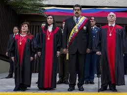 Maduro y TS