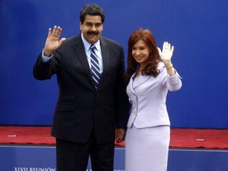 Maduro-y-CFK