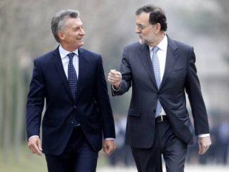 Macri en Madrid