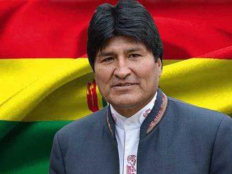 Evo-Morales-bandera