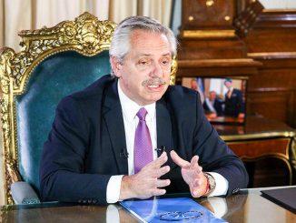 Atalayar_El presidente de Argentina, Alberto Fernández