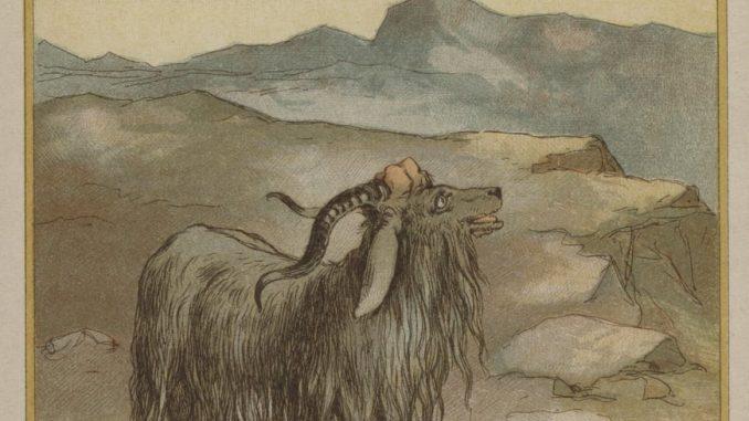 Richard_Andre_-_The_scape_goat_-_(MeisterDrucke-388430)